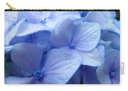 Office Art Prints Blue Hydrangea Flowers Giclee Baslee Troutman Carry-all Pouch