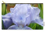 Office Art Prints Blue Iris Flower Giclee Prints Baslee Troutman Carry-all Pouch