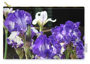 Office Art Prints Iris Flower Botanical Landscape 30 Giclee Prints Baslee Troutman Carry-all Pouch