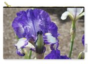 Office Art Prints Irises Flowers 46 Iris Flower Giclee Prints Baslee Troutman Carry-all Pouch