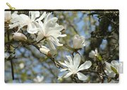 Office Art Prints Magnolia Tree Flowers Landscape 15 Giclee Prints Baslee Troutman Carry-all Pouch