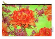 Office Art Prints Orange Azalea Flowers Landscape 13 Giclee Prints Baslee Troutman Carry-all Pouch