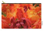 Office Art Prints Orange Azaleas Flowers 9 Giclee Prints Baslee Troutman Carry-all Pouch
