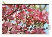 Office Art Prints Pink Flowering Dogwood Trees 18 Giclee Prints Baslee Troutman Carry-all Pouch