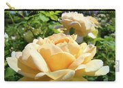 Office Art Prints Rose Peach Orange Rose Flower Baslee Troutman Carry-all Pouch