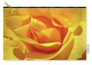 Office Art Prints Roses Orange Yellow Rose Flower 1 Giclee Prints Baslee Troutman Carry-all Pouch