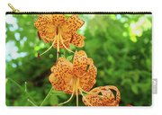 Office Art Prints Tiger Lilies Flowers Nature Giclee Prints Baslee Troutman Carry-all Pouch