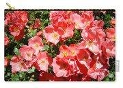 Office Art Rose Garden Landscape Art Pink Roses Giclee Baslee Troutman Carry-all Pouch
