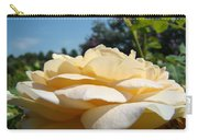 Office Art Rose Landscape Peach Roses Flowers Giclee Baslee Troutman Carry-all Pouch