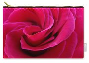 Office Art Rose Spiral Art Pink Roses Flowers Giclee Prints Baslee Troutman Carry-all Pouch