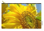 Office Art Sunflowers Giclee Art Prints Sun Flowers Baslee Troutman Carry-all Pouch