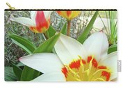 Office Art Tulips Tulip Flowers Giclee Art Prints Florals Baslee Troutman Carry-all Pouch