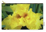 Office Art Yellow Iris Flower Irises Giclee Prints Baslee Troutman Carry-all Pouch