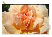 Office Artwork Roses Peach Rose Flower Giclee Baslee Troutman Carry-all Pouch