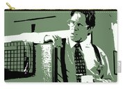 Office Space Bill Lumbergh Movie Quote Poster Series 002 Carry-all Pouch