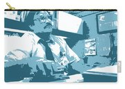 Office Space Milton Waddams Movie Quote Poster Series 003 Carry-all Pouch