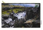 Ogwen Rock Waterfall Carry-all Pouch