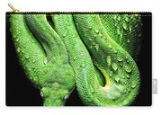 Oh So Green Viper Carry-all Pouch