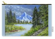 Oh, Spring, 9x12, Oil, '07 Carry-all Pouch