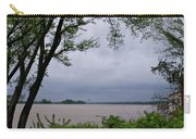 Ohio River Carry-all Pouch by Sandy Keeton