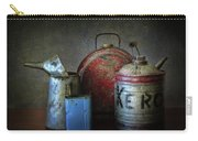 Oil And Kerosene Cans Carry-all Pouch
