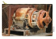 Oil Field Electric Motor Carry-all Pouch