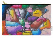 Oil Pastel Abstract Carry-all Pouch