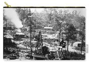 Oil: Pennsylvania, 1863 Carry-all Pouch