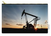 Oil Pumper At Sunset Carry-all Pouch