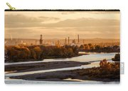 Oil Refinery At Sunset Carry-all Pouch