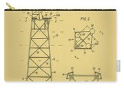 Oil Rig Patent Carry-all Pouch