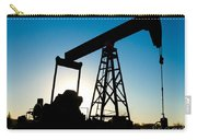 Oil Rig Silhouette Carry-all Pouch