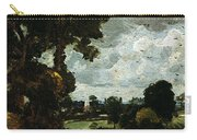 Oil Sketch Of Stoke-by-nayland Carry-all Pouch