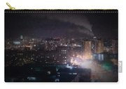 Oil Style City At Night Image Carry-all Pouch