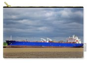 Oil Tanker Ship At Dock Carry-all Pouch