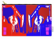 Oil Well Pump Abstract Carry-all Pouch