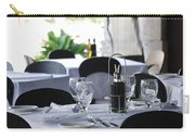 Oils And Glass At Dinner Carry-all Pouch