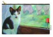 Ok I'll Pose - Painting - By Liane Wright Carry-all Pouch