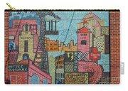 Oklahoma City Bricktown Mosaic Wall Carry-all Pouch
