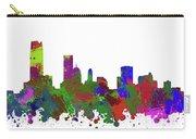 Oklahoma City Skyline Painted Carry-all Pouch
