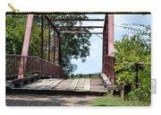Old Alton Bridge In Denton County Carry-all Pouch