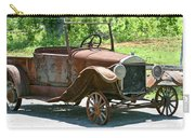 Old Antique Vehicle Carry-all Pouch