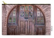Old Arched Doorway-tucson Carry-all Pouch