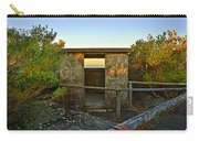 Old Army Lookout In Sunset Hour Carry-all Pouch