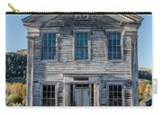 Old Bannack Schoolhouse And Masonic Temple 2 Carry-all Pouch