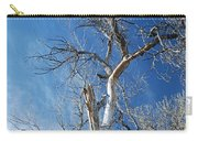 Old Barkless Tree Carry-all Pouch