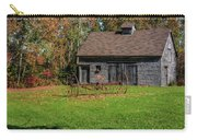 Old Barn And Rusty Farm Implement 01 Carry-all Pouch