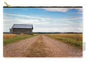 Old Barn By The Gravel Road Carry-all Pouch
