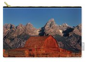 Old Barn Grand Tetons National Park Wyoming Carry-all Pouch by Dave Welling