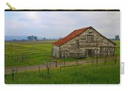 Old Barn In The Mustard Fields Carry-all Pouch